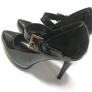 Windsor Shoes - WINDSOR, Nwot, Black Patent Leather Pumps B0087